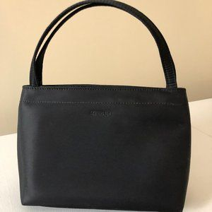 NY & Co Black Satin Handbag